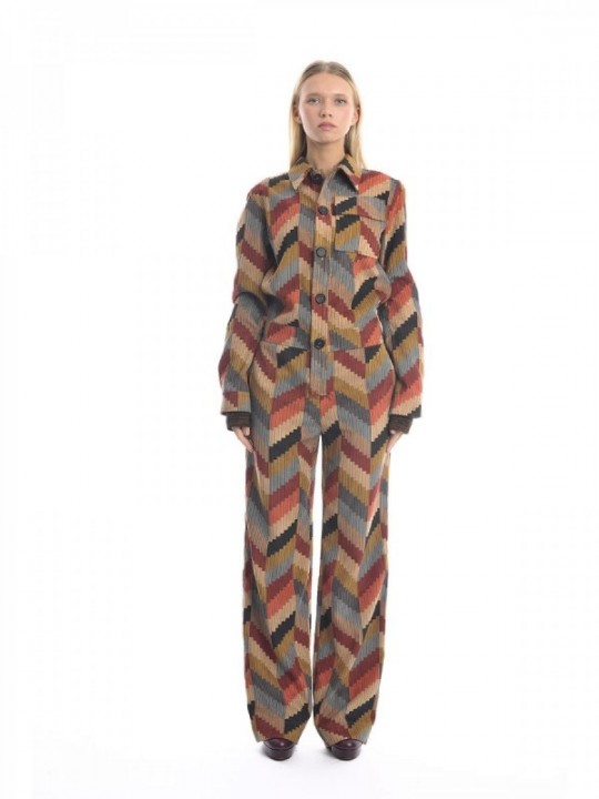 M MISSONI DRESS 2DO00017-2W002A - MULTICOLOR