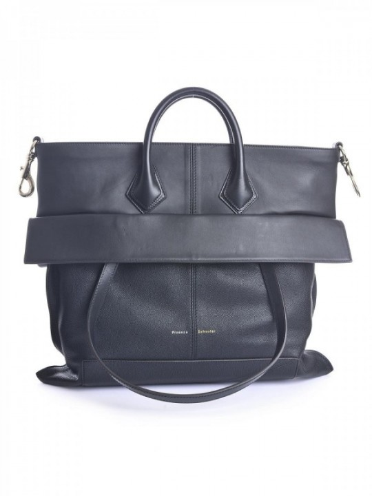 BORSA PROENZA SCHOULER PS19 LARGE-GRAINY - BLACK